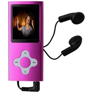 Bush 8GB MP3 With Camera Camcorder - Pink