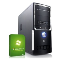 CSL Gaming PC Sprint H5772 inkl. Windows 7 - AMD A8-6600K APU 4x 3900MHz, 8GB RAM, 1000GB HDD, Radeon HD 8570D, DVD, USB 3.0