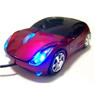 Car USB 2.0 3D Optical Mouse Mice for PC Laptop