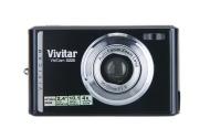 "Vivitar X225 Fotocamera Compatta, 10.1 Megapixels, Zoom Ottico 2x, Zoom Digitale 4x, Display LCD da 2,4"", Batteria Li-Ion, Nero"
