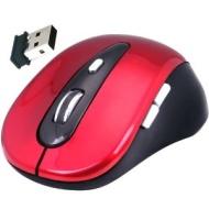 Daffodil WMS320R Ratón Óptico Inalámbrico 2.4GHz - Mouse sin cables con 5 Botones, Rueda de Desplazamiento y Sensibilidad Ajustable (Max. 1600dpi) - O