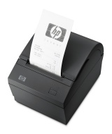HP Single Station Thermal Receipt Printer - Receipt printer - two-color - direct thermal - Roll (0.32 in) - 203 dpi - up to 74 lines/sec - USB - promo