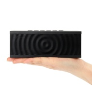 Bolse 12W NFC Wireless Portable Wireless Bluetooth Speaker, 8 hour Playtime with Built-in Speakerphone for iPhone 5S, 5, iPad Air, Mini, Samsung Galax