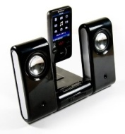 E-volve MP3 Vibe-Dock Home portable speaker system compatible with (Sony Walkman X series E series S series A series NW-A805 NWZ-X1050 NWZ-X1060 NW-A1