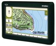 "IGN - Evadeo M35 - GPS - Ecran tactile 4,3"" - Cartographie Europe 21 Pays"
