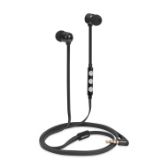 Betron B850 Earphones Headphones, High Definition, in-ear, Tangle Free, Noise Isolating , HEAVY DEEP BASS for iPhone, iPod, iPad, MP3 Players, Samsung