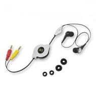 ReTrak Retractable Ear-Wrap Sports Earbuds