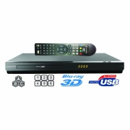 Saachi BDP-SA98 - All Multi Region Code Zone Free 2D/3D Blu-ray Disc Player with Full HD 1080p Internet Connectivity Plays PAL/NTSC DVD - Worldwide Us