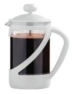 Premier Housewares Kenya Cafetiere, 6-Cup, White