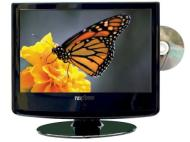 "16"" 12v/230v LCD TV Multi Region DVD, Freeview plus USB Record PVR"