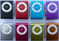 Mini Fashoin Clip Metal USB MP3 Music Media Player Support 1 - 8GB Micro SD TF by Buyincoins