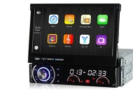 Pumpkin Wince 6.0 Universal Head unit Single Din Car Stereo GPS sat nav DVD Player 7.0 inch In Dash HD Touchscreen support GPS/Navi/USB/SD/3G/DVR/DVB-
