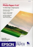 Epson S041458 Borderless Photo Paper (4x6, 20 Sheets)