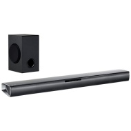 LG SJ2 Bluetooth Sound Bar with Wireless Subwoofer, Black