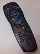 Sky HD Remote Control Black