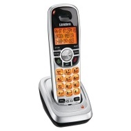 Uniden DCX150 Accessory Handset - DECT 6.0, Speakerphone, Clock Display, Backlit Display, Silver/Black  DCX150
