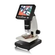 """DNT - Microscopio digitale """"DigiMicro Lab 5.0"""", 5 megapixel, display da 8,8 cm (3,5 pollici), colore: Nero"""
