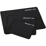 """Cooler Master SGS-4120-KSMM1 Swift RX """"Medium Size, Low Friction surface, Stiched Edges, Professional Gaming Mouse Mat """" Black"""