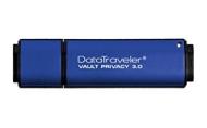 Kingston Data Traveler Vault Privacy 3.0 Pendrive 16 Gb, Blu