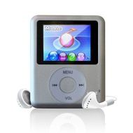 Lonve 8GB Silver MP3/MP4 Player 1.81'' Screen