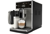 SAECO SM 5573/10 PicoBaristo Kaffeevollautomat Edelstahl/Schwarz (Keramik, 1.7 Liter Wassertank)