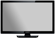 Magnavox 28MD403V/F7 28-Inch Super Slim Hi-Definition HDTV with Built-In DVD Player