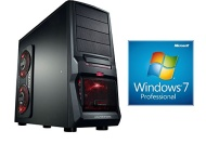 PC Gaming PC Six Core AMD FX-6300 6x3.5GHz (Turbo up to 4.1GHz), Windows 7 Prof 64bit english , GeForce nVidia GTX750 (2048MB), dvd writer , 2TB HDD,
