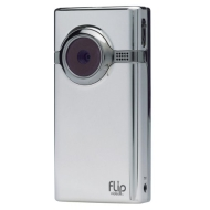 Flip MinoHD Camcorder, 60 Minutes (Chrome)