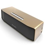 Bluedio BS-2 Mini Bluetooth Lautsprecher kompakt zum mitnehmen und ein Kabelloses 3D Stereo Musik Sound System(Golden)