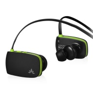 Avantree Sacool, Sports use,Strong Bass, Ultra-light Bluetooth Stereo Headset with Mic for Universal wireless Music & Call-Black/Green.