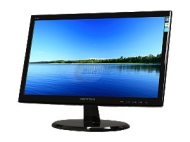 Hanns G HannsG HL203DPB 20 Class LED Backlit Monitor - 1600 x 900, 16:9, 30000000:1 Dynamic, 5ms, DVI, VGA, Energy Star