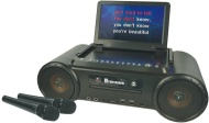 Mr Entertainer Partybox Portable DVD Player & CD+G Karaoke Machine Package. Includes Mics & Songs