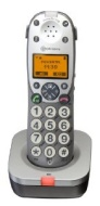 Amplicomms Powertel 701 Big Button Cordless DECT Additional Handset - Anthrachite