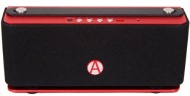 Audio Dynamix® X05-UE Aluminium Bluetooth Speaker - Red - Ultimate Edition - 25hrs playtime on a single charge and a Bluetooth range of 120ft.