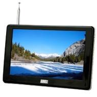"""August DA900C Téléviseur portable 9"""" (22,9cm) - TNT et enregistreur TV / TV analogique / Lecteur multimédia / Affichage photo / fonctions interactives"""