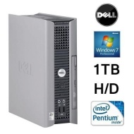ECO QUIET ULTRA SMALL DELL PC 1000GB H/D 4GB MEMORY DUAL CORE WIN7 WIFI (P4-7)