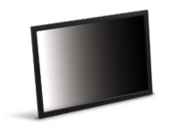 "3M Privacy Filter for 25"" Widescreen Monitor - Display privacy filter - 25"" wide - black"