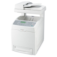 Lexmark X560n - Multifunction ( fax / copier / printer / scanner ) - color - laser - copying (up to): 31 ppm (mono) / 20 ppm (color) - printing (up to