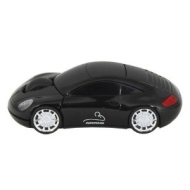 Motor Mouse Car Black Wireless USB Computer Mouse