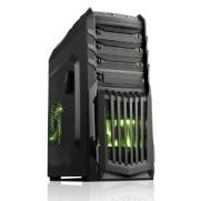 Itek Snake-G Cassa Gaming Middle Tower, Porta USB 3.0, ODD/HDD Kit, Nero