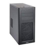 Lian Li PC-7HX Midi-Tower - Caja para ordenador (micro-ATX, 4 x 3,5 HDD, 1 x 2,5 HDD, 2 x USB 3.0), color negro