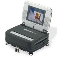 Portable Dvd Player AudioVox w/Eddie Bauer Eddition Screen & Carry Bag