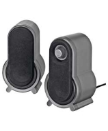 Wharfedale 2.0 Speakers - Black and Silver