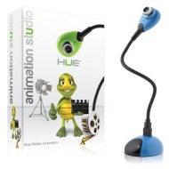 Hue Animation Studio for Windows PCs (Blue): complete stop motion animation kit with camera