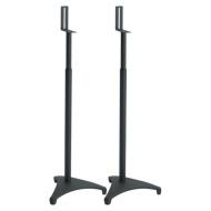Sanus EFSATB - Adjustable Speaker Stands (Pair) - Black Satin