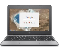 "HP 11-v051na 11.6"" Chromebook - Intel® Celeron™, 16 GB eMMC, Grey"