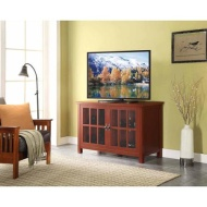 Red TV Stand and Console for TVs up to 55""