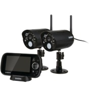 Uniden UDR444 Guardian 4.3-Inch Video Surveillance System with 2 Cameras (UDR444)