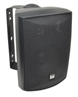 Dual Electronics LU53PB - 5, 1/4-Inch 3-Way 125 Watt Indoor / Outdoor Loudspeakers (Black)