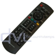 Panasonic N2QAYB000321 Replacement Remote Control